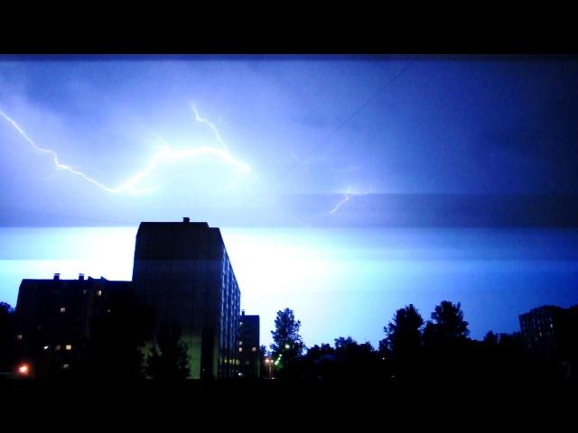 Гроза Санкт-Петербург 06.08.2015г. | Storm Saint-Petersburg 06.08.2015