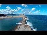 Видео, снятое с помощью квадрокоптера v550 drone и камеры SJCAM SJ4000 (Castle Point)