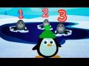 Baby U, развивающие мультики для самых маленьких Учимся считать до 3