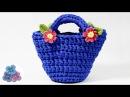 Como hacer Bolsos de Trapillo paso a paso Crochet XXL Ganchillo Totora DIY Trapillo Pintura Facil