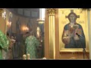 Патриарх Кирилл и совершил Литургию в Георгиевском храме на Поклонной горе