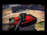 War Thunder попадание снаряда в танк в замедленном действие