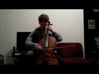 POPPER PROJECT #5: Joshua Roman plays Etude #5 for cello by David Popper
