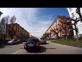 Адекватность водителя вызывает сомнения - Снежинск 6 мая 2015