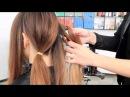 Прическа на каждый день | Офисный стиль | Для длинных и средних волос