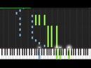 Despair - Naruto Shippūden [Piano Tutorial] (Synthesia)
