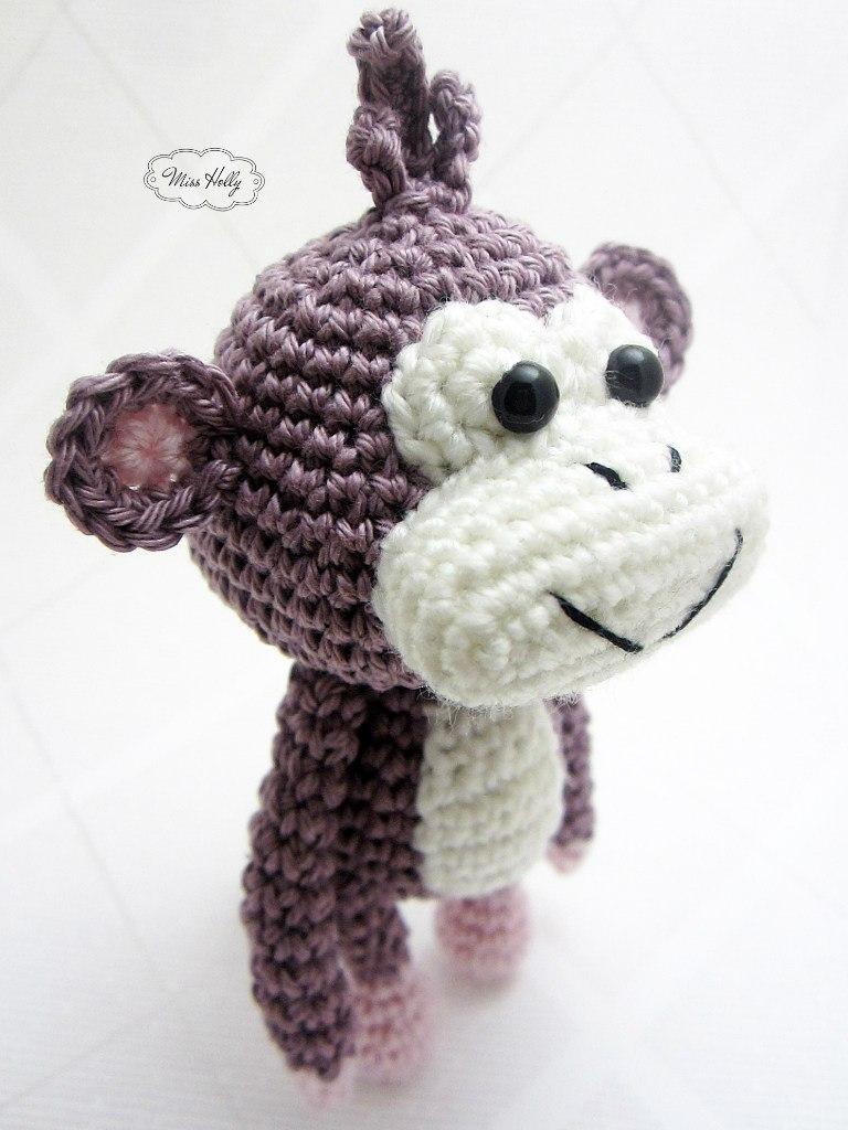 Видео по вязанию обезьяны