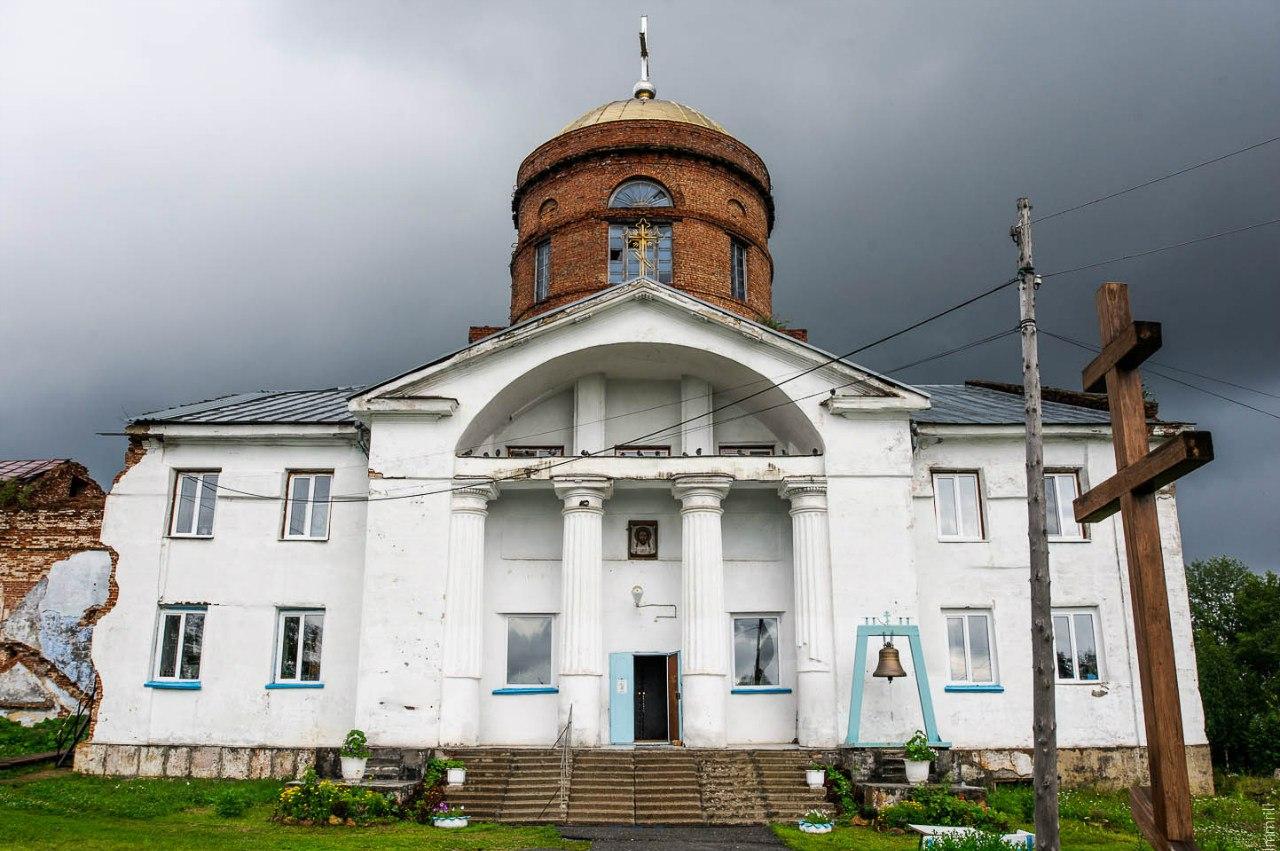 Церковь в Александровском