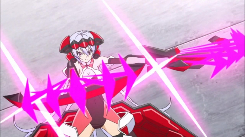 Makyuu Ichii-Bal (CV: Takagaki Ayahi)   Symphogear (8 episode)