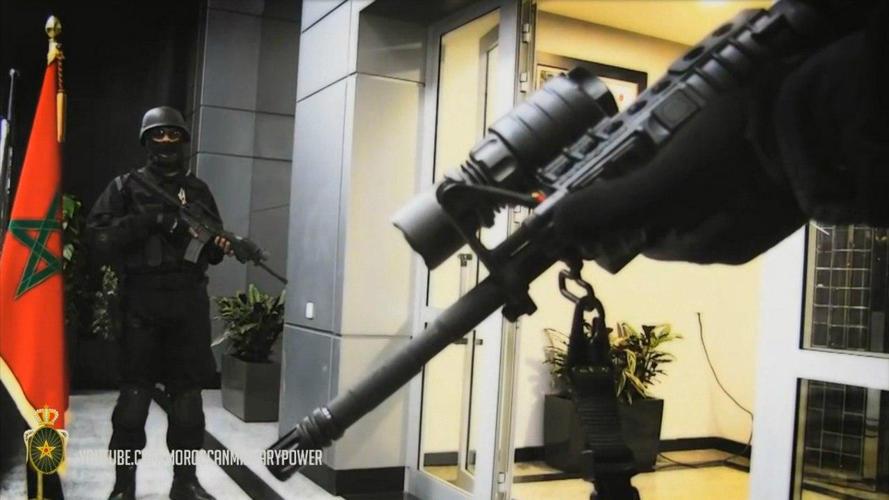 Moroccan Special Forces/Forces spéciales marocaines  :Videos et Photos : BCIJ, Gendarmerie Royale ,  PaABPEfusgI