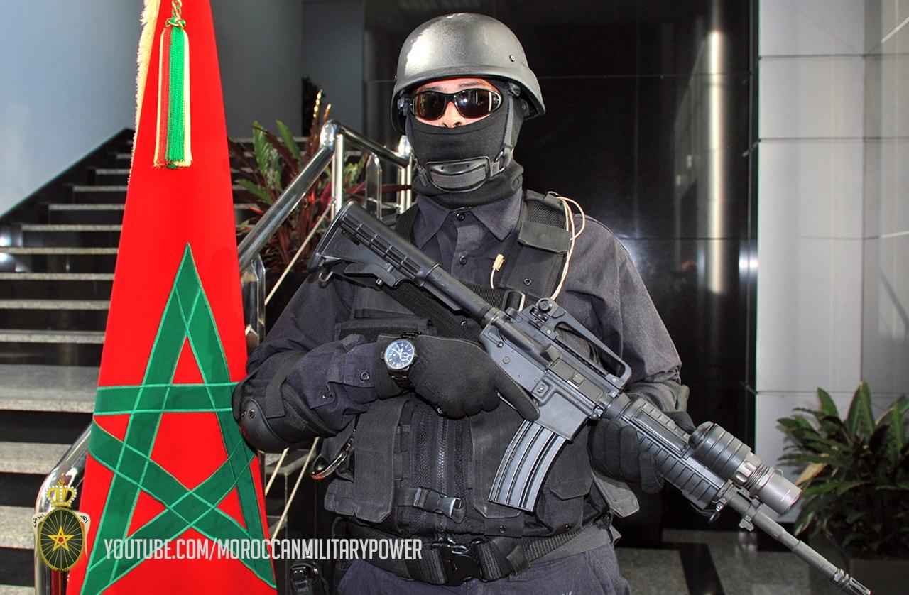Moroccan Special Forces/Forces spéciales marocaines  :Videos et Photos : BCIJ, Gendarmerie Royale ,  9cOvjB-8Thc