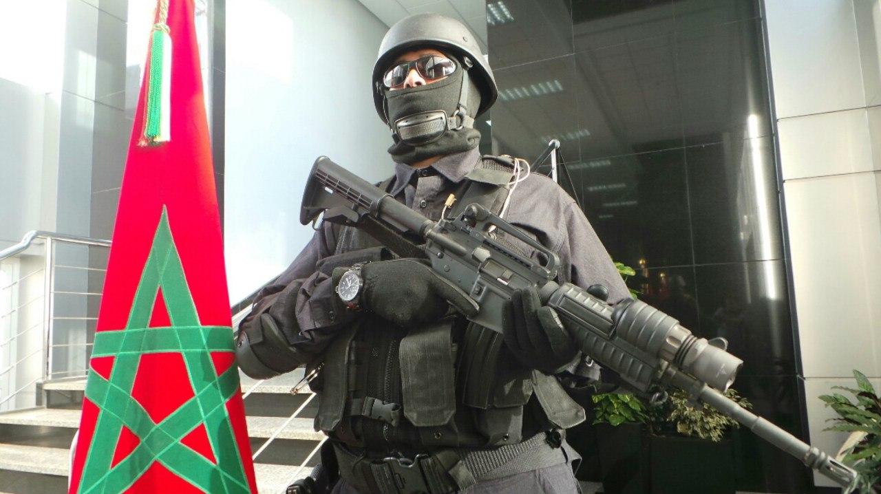 Moroccan Special Forces/Forces spéciales marocaines  :Videos et Photos : BCIJ, Gendarmerie Royale ,  - Page 2 KacxKoX-OTA