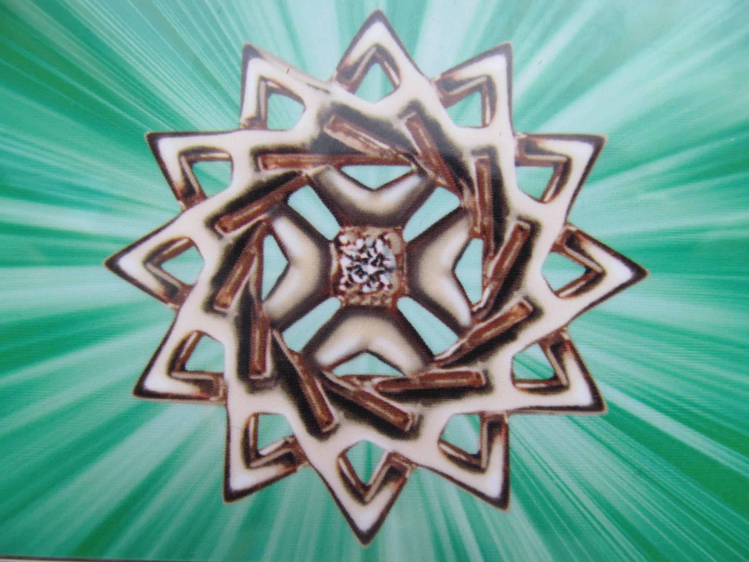 Звезда эрцгаммы вышивка фото 5