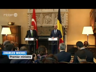 Visite d'Erdogan à Bruxelles : bagarres entre les services de sécurité belges et turcs