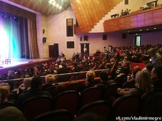 Зрительный зал. Михаил Задорнов во Владимире 14.12.2014 http://vk.com/wall-33973900_6478