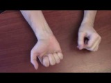 Секрет фокуса с резинкой rubber band tricks secret (Umeloe TV 26.02.13)