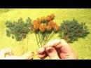 Формируем ветви дерева из бисера мастер класс № 8