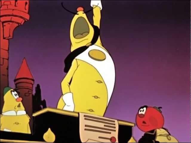 Чипполино (отрывки из мультфильма)