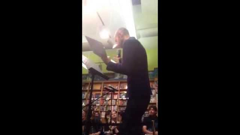 Cecil Baldwin Live WTNV Reading (part 3)