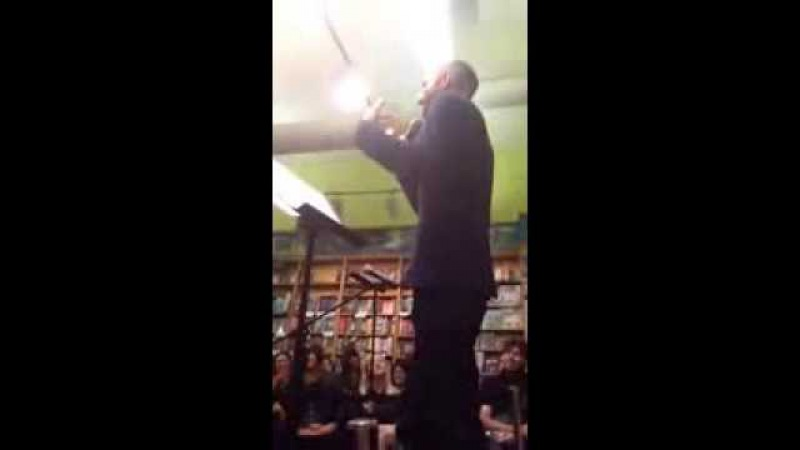 Cecil Baldwin Live WTNV Reading (part 2)