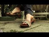 Jelisa Rose  Dangling sandals &amp wiggling toes