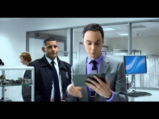 Смешная реклама с Джимом Парсонсом Лаборатория Intel озвучено по версии Кураж Бамбей