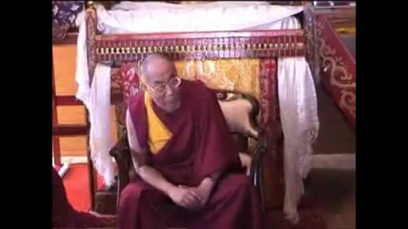 Посвящении в практику «Калачакры» Далай Ламой XIV - фильм Блистательная Калачакра
