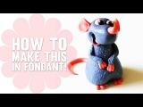 Ratatouille - Фигурки из мастики своими руками!