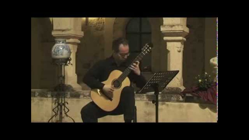 CHRISTIAN SAGGESE plays Sonata op.61 by J.Turina (1st tempo)