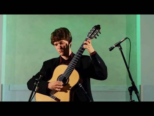Marcin Kuzniar - Bach, Sarabande Jig from Partita No.2 in d-moll