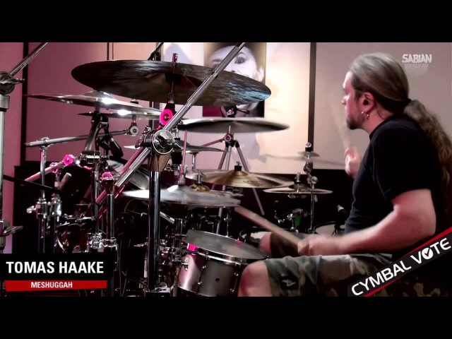 CYMBAL VOTE - Tomas Haake Performace