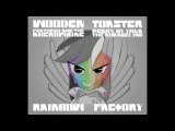 remix WoodenToaster feat. Mic the Microphone - Rainbow Factory (remix by yoka the changeling)