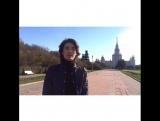 Андрей Цветков принял участие в эстафете #70леткакпобедили