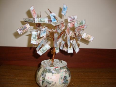 деньги растут на деревьях