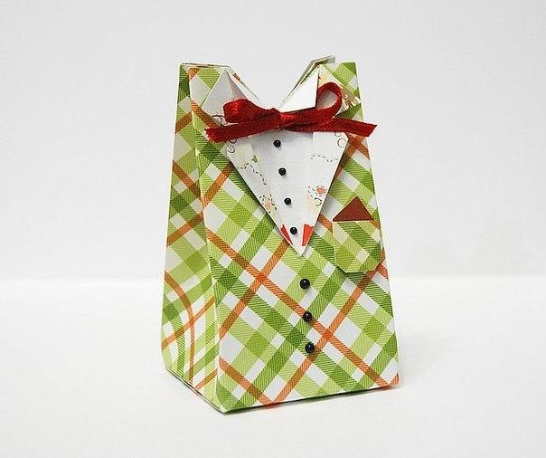 МК упаковки - мужская рубашка