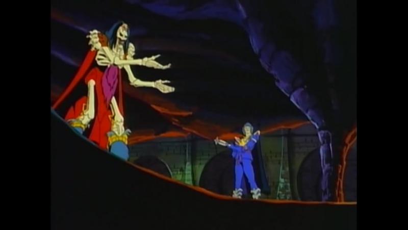 Воины-Скелеты 4 серия из 13 / Skeleton Warriors Episode 4 (1993 - 1994) Яблоко раздора