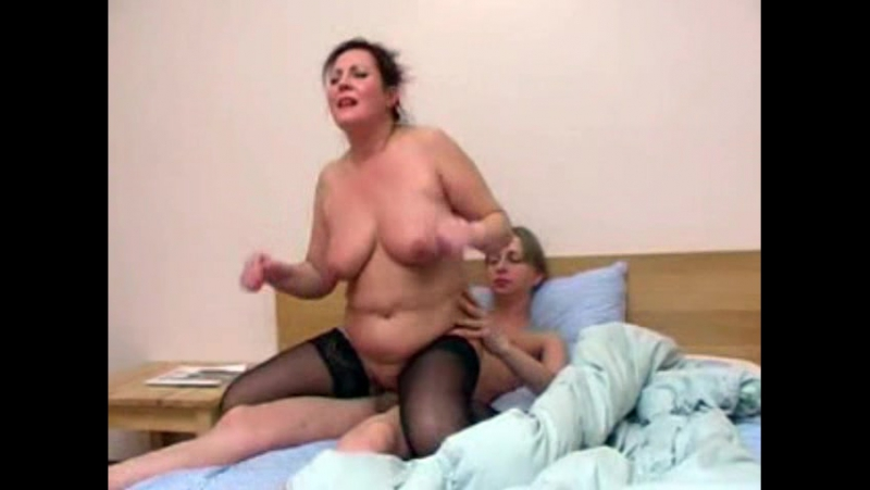 Slutty mama goes dirty with her naughty son