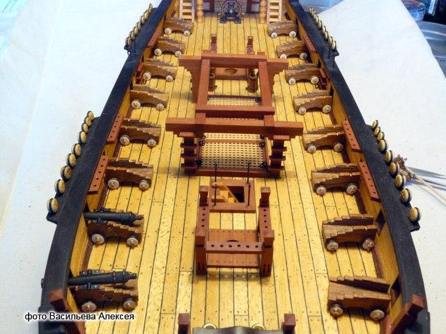 """Собирательный образ пиратского корабля """"CORSAIR"""" масштаб 1:80 фирмы OCCRE Yy0ge0410gY"""
