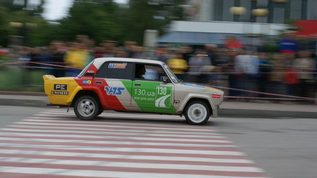 Фото. ІІ етап Національних змагань з автомобільного слалому «Мирна країна – єдина Україна» м. Канів 28.06.2015