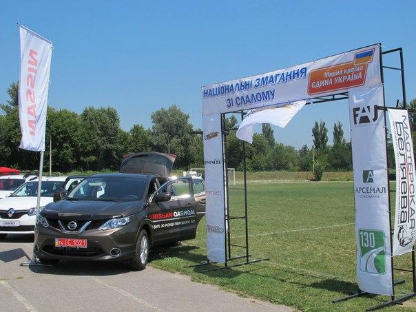 Фото. ІІІ етап Національних змагань з автомобільного слалому «Мирна країна – єдина Україна» м. Чигирин 25.07.2015