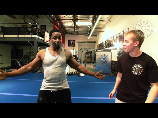 Martial Arts expert Michael Jai Whites training video with Gonzo FIT