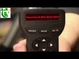 Demonstrating the Meade Autostar Handset