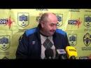 Післяматчева прес конференція Саміра Гасанова та Василя Івегеша