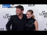 Scott Eastwood and Britt Robertson at The Longest Ride premiere