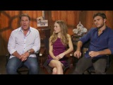 THE LONGEST RIDE Interview with Nicholas Sparks, Britt Robertson, and Scott Eastwood