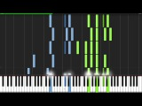 Hans Zimmer - Epilogue Piano Tutorial (Synthesia)