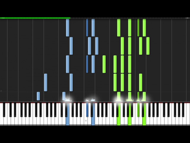 Hans Zimmer - Epilogue [Piano Tutorial] (Synthesia)
