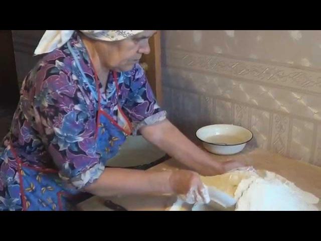 Тесто для пирогов (рецепт нашей мамы).