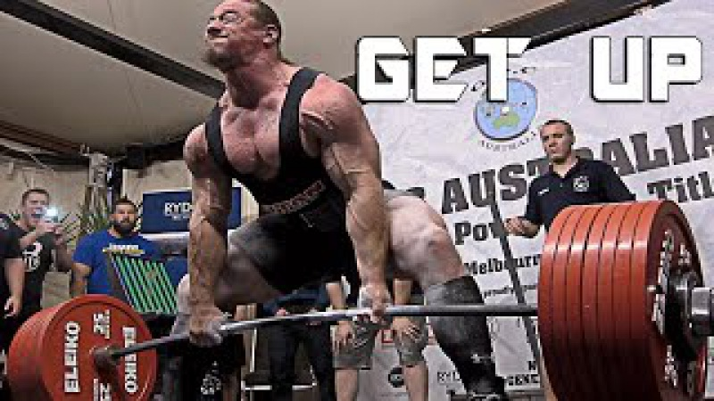 Powerlifting Motivation - GET UP
