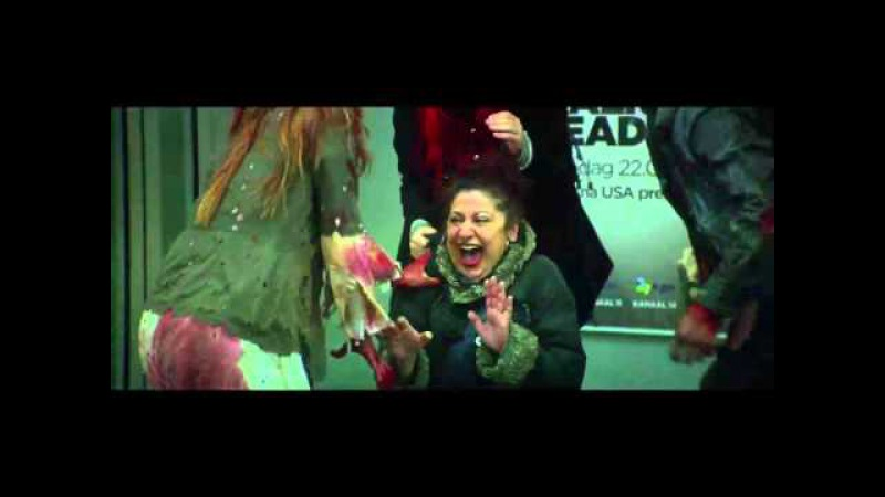 The Walking Dead Prank Amsterdam Radio 538